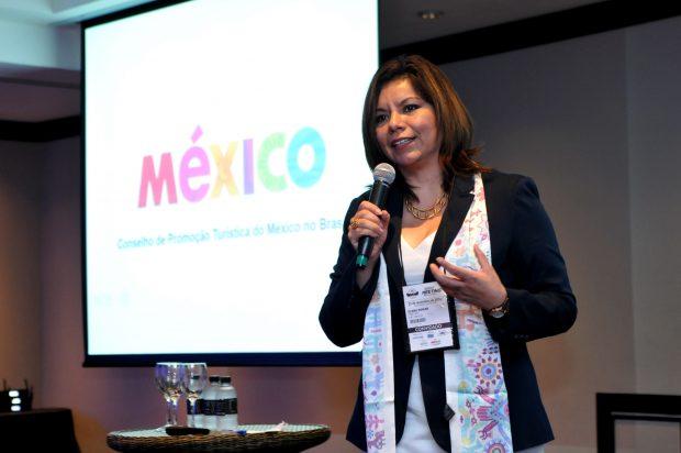 Diana Pomar - diretora do Conselho de Promoção Turístico do México (CPTM) - Foto: Divulgação