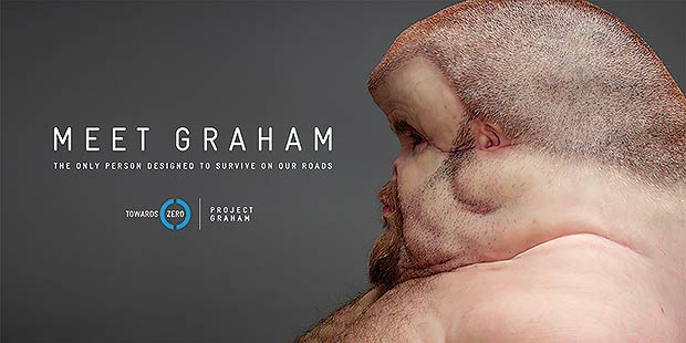 """Meet Graham"", da Clemenger BBDO, da Austrália, para a Transport Accident Commission"