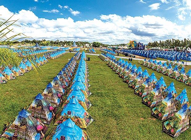 Tomorrowland Camping